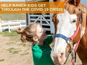 Helping Ranch kids get through the COVID-19 Crisis